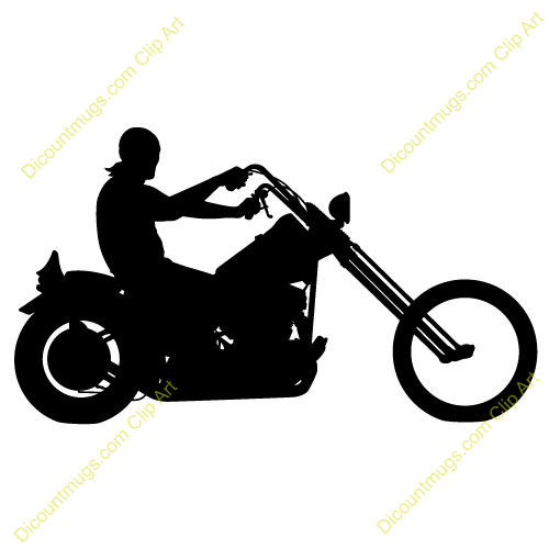 500x500 Motorcycle Silhouette Clip Art Many Interesting Cliparts