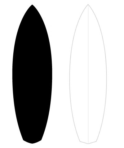 400x480 Pin By Cathy Tats On Surf Surfboards, Outlines