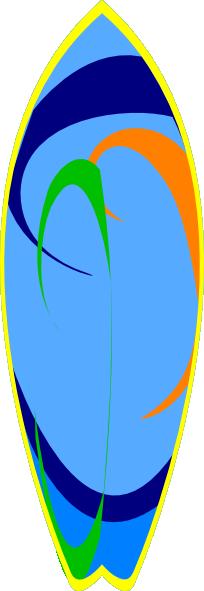 204x591 Surfer Clipart Surfboard