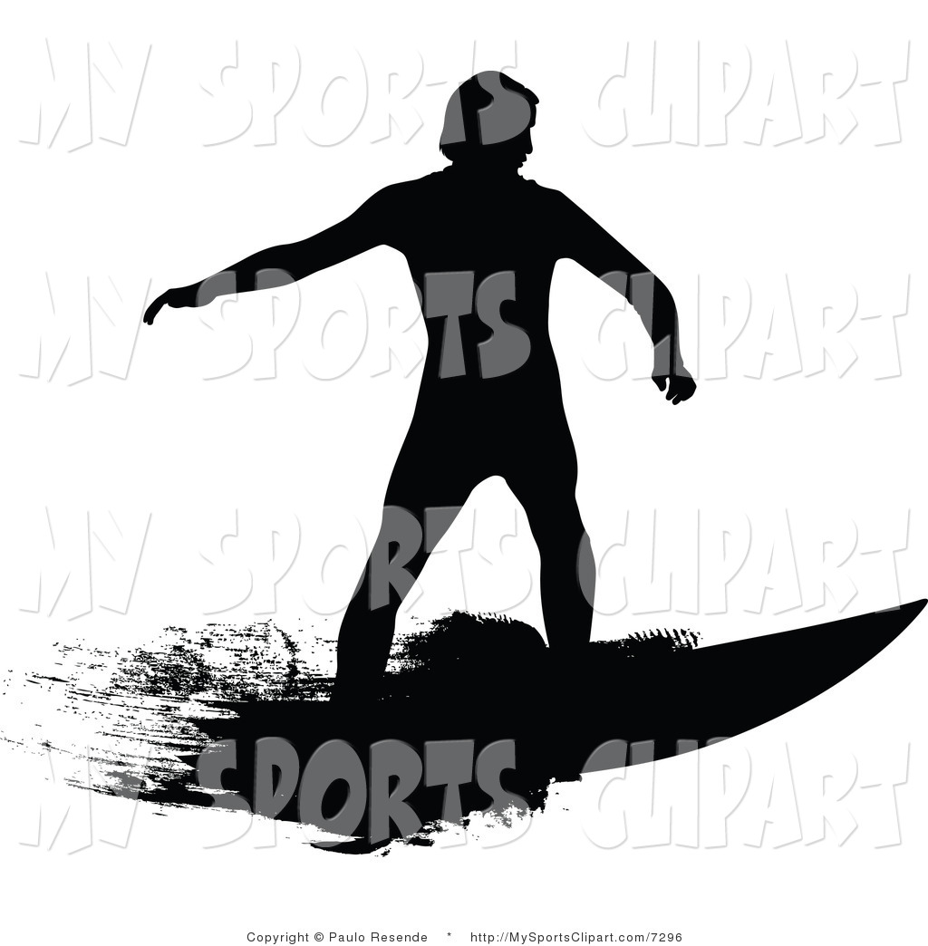 1024x1044 Sports Clip Art Of A Surfer Dude By Paulo Resende
