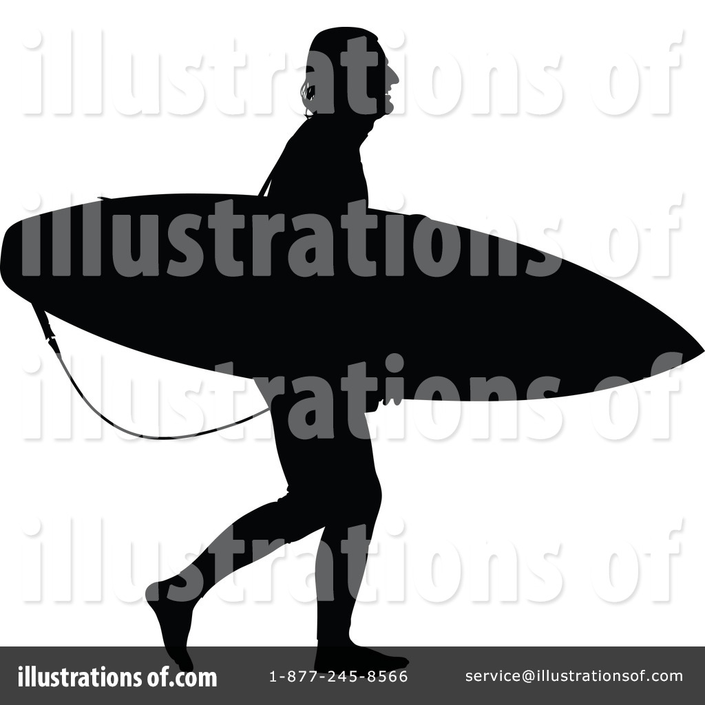 1024x1024 Surfer Clipart
