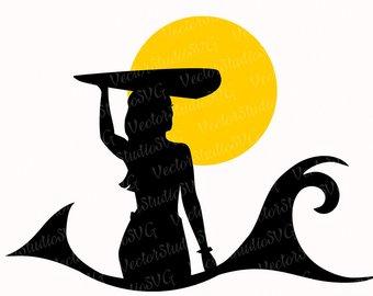 340x270 Surfer Silhouette Etsy
