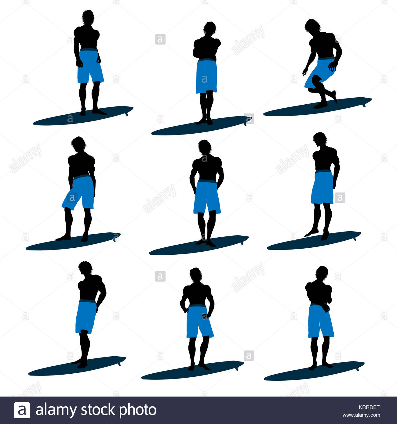 1300x1390 Surfing Art Cut Out Stock Images Amp Pictures
