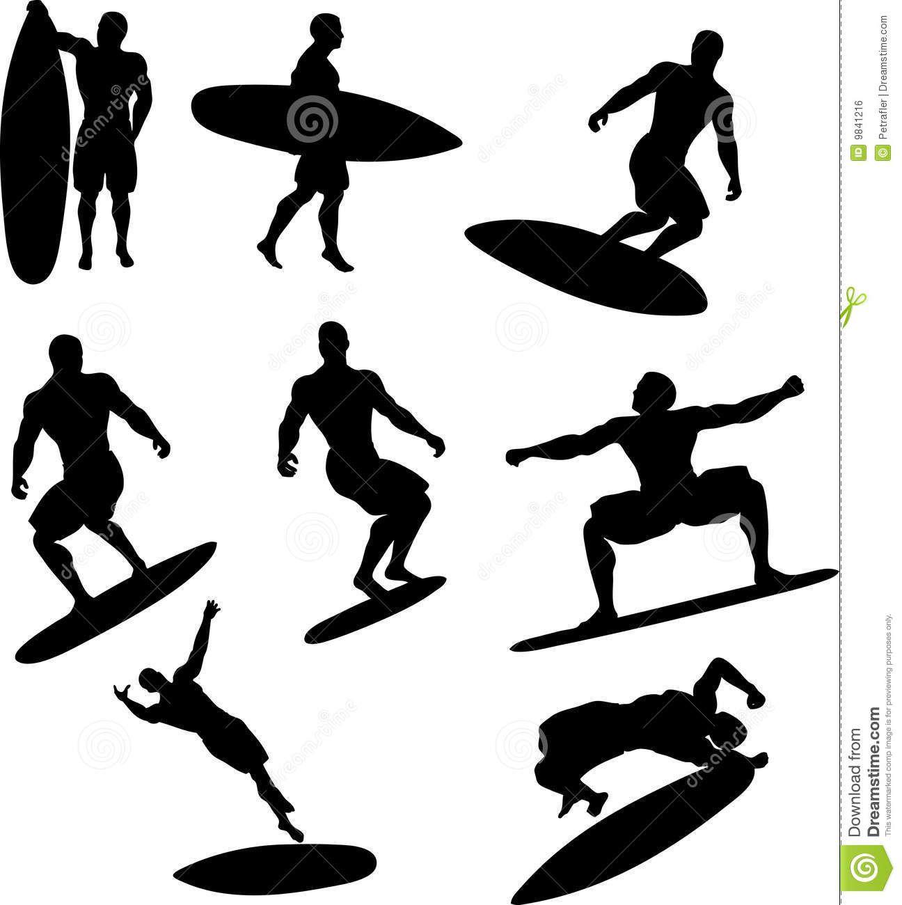 1296x1300 Surfer Silhouette