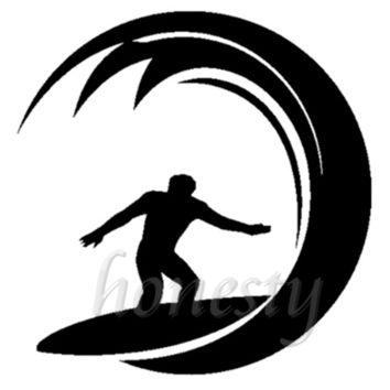 354x354 Shop Surfer Stickers On Wanelo