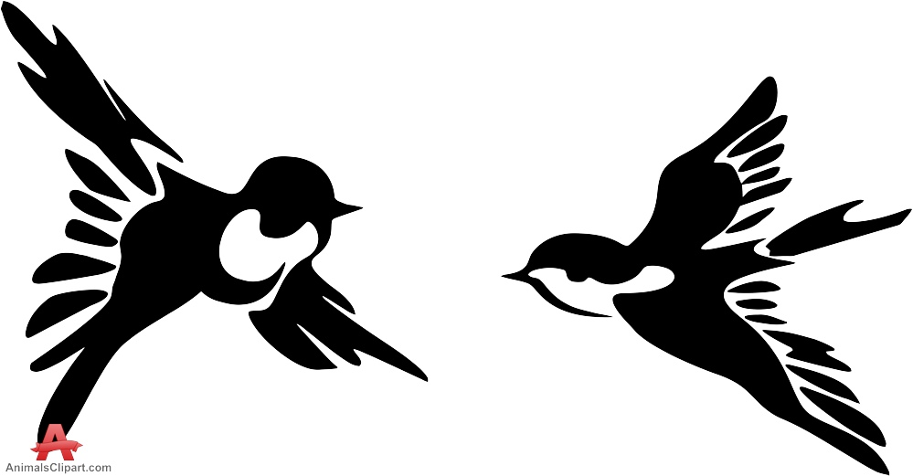 999x521 Swallow Clipart Flying Many Interesting Cliparts
