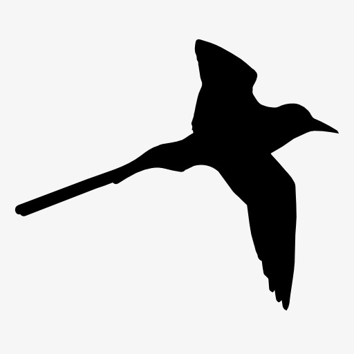 512x512 Swallow Silhouette, Bird, Flight, Animal Png Image And Clipart