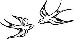 309x163 Tattoo Ideas Swallow Tattoo Silhouette I Wanna Get One Of These