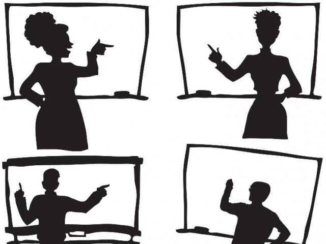 640x480 Mass Demonstration Teachers Protest Against Rationalisation