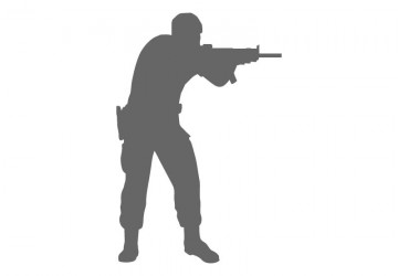 360x250 Military Wall Decals
