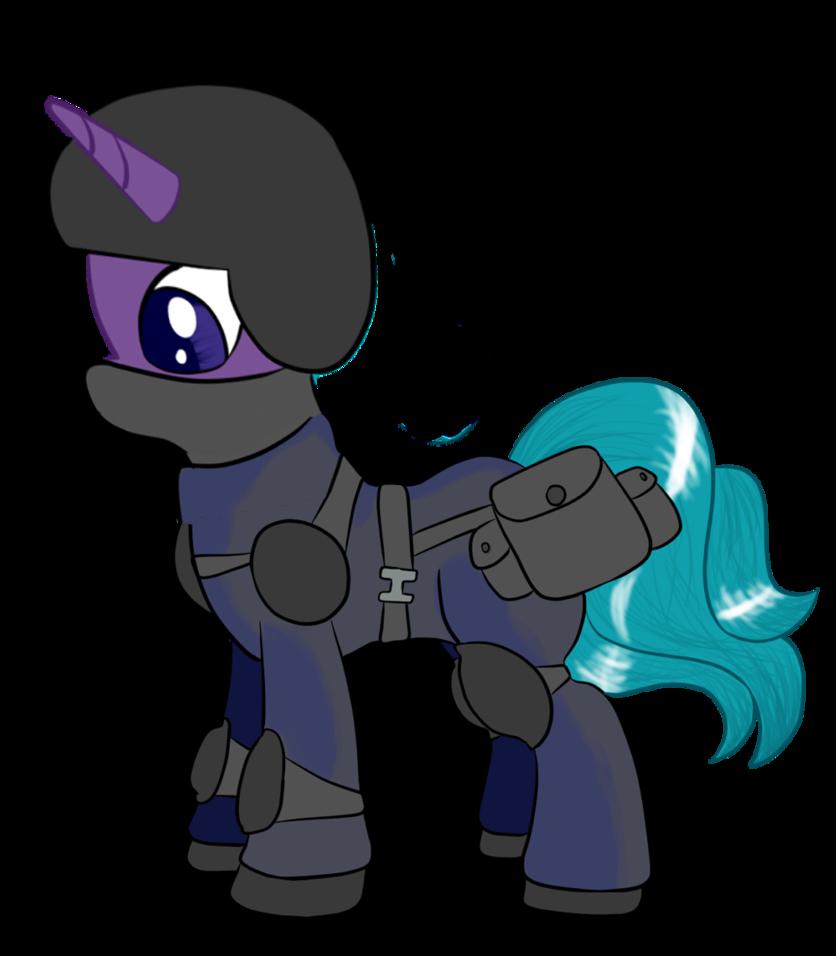 836x956 Silhouette The Swat Pony By Infernaldalek