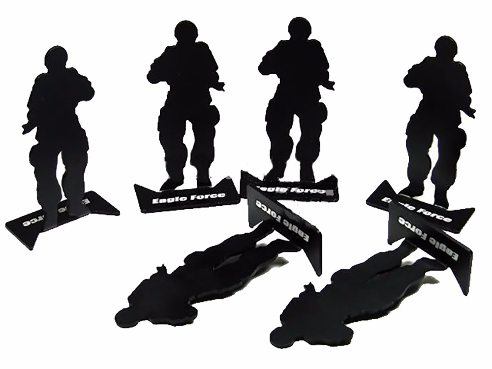 Swat Team Silhouette