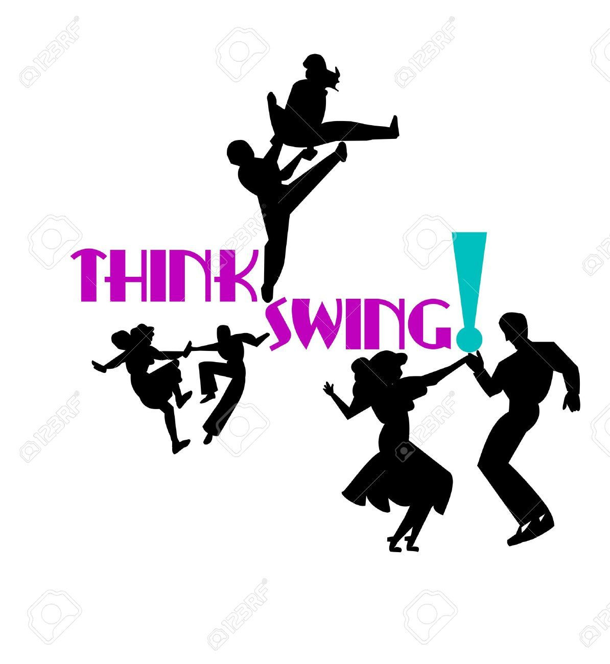 1194x1300 Think Swing Dancers Royalty Free Cliparts Vectors And Stock Bright