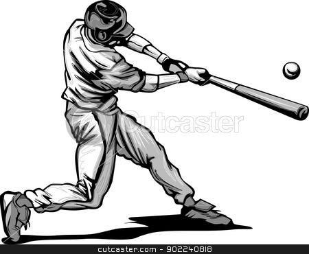 450x370 Swing Clipart Baseball Bat