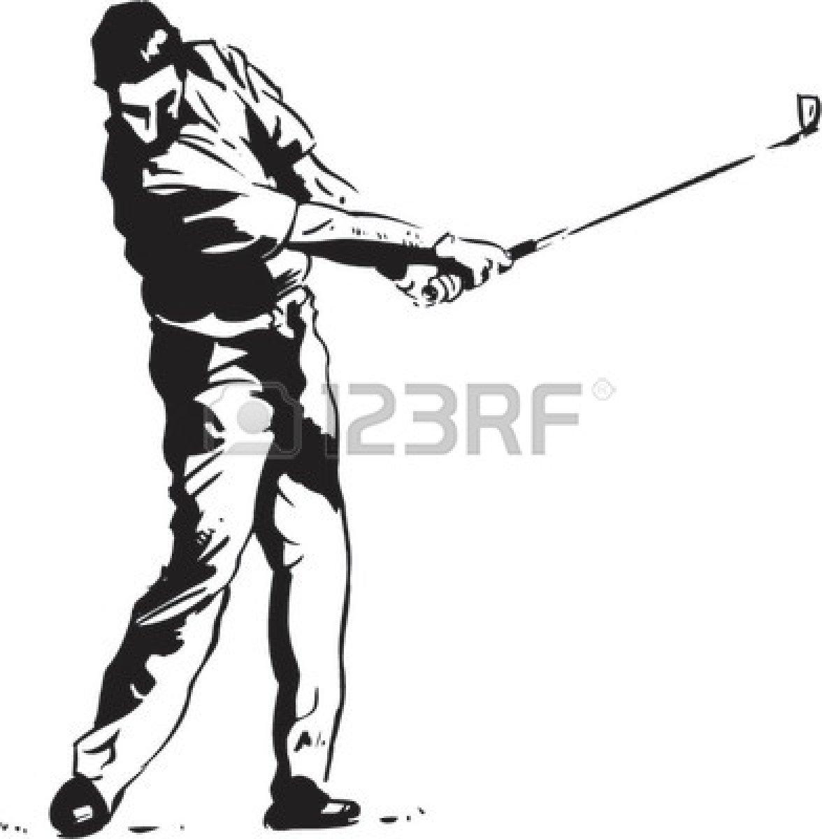 1176x1200 Golf Swing Silhouette Clip Art