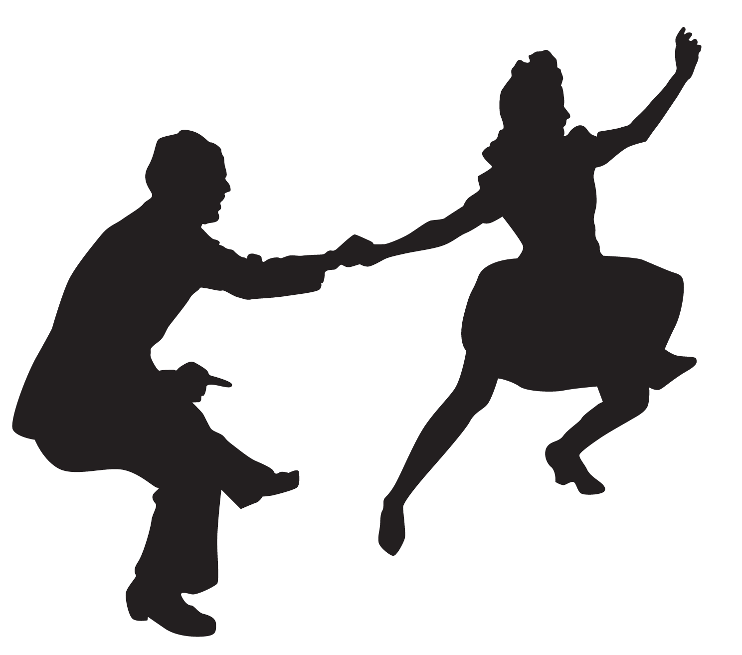1488x1313 Home Gem City Swing Throughout Dancer Silhouette