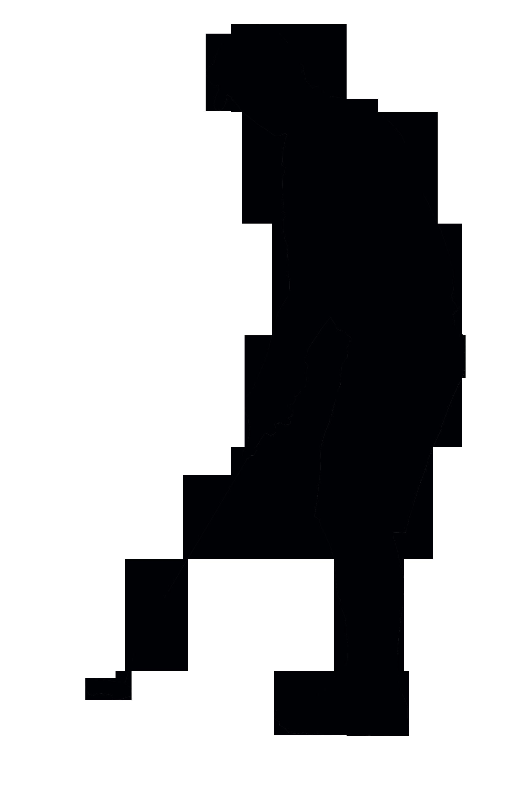 1666x2500 Silhouette Clipart Golf