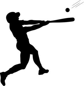 294x300 Swing Clipart Baseball Bat