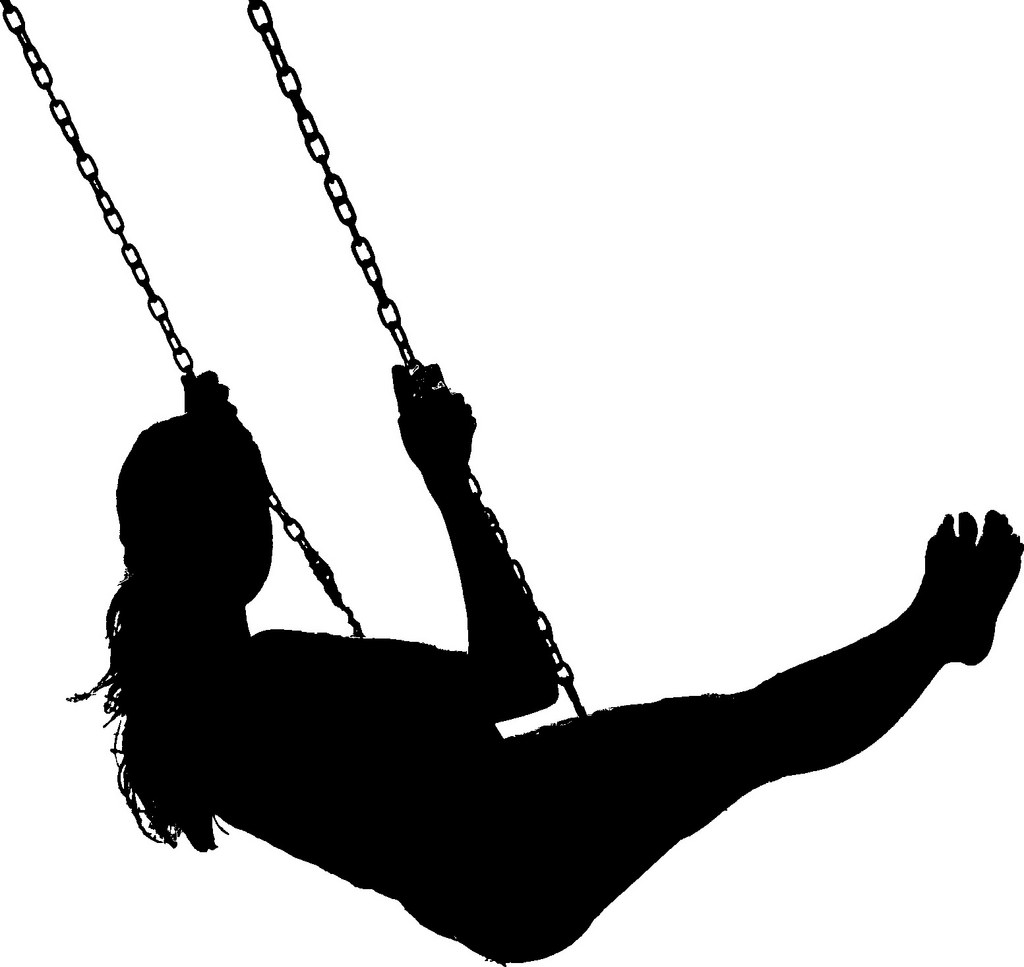 1024x967 Swing Silhouette Just A Simple Swing. But Imagine How