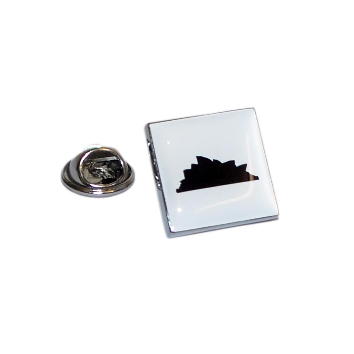 1200x1200 Silhouette Sydney Opera House Lapel Pin Badge