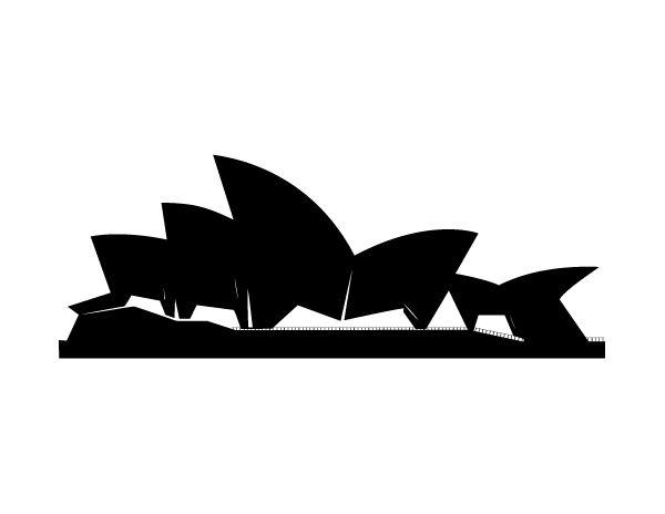 600x464 Sydney Opera House Vector