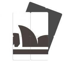 220x220 Australia Flavor City Landmark Sydney Opera House Silhouette