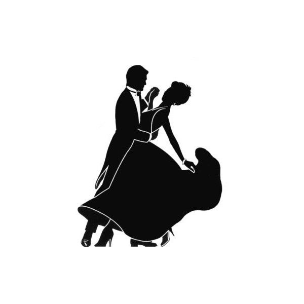 600x600 Ballroom Dancing Silhouette R4 Found On Polyvore Shall We Dance