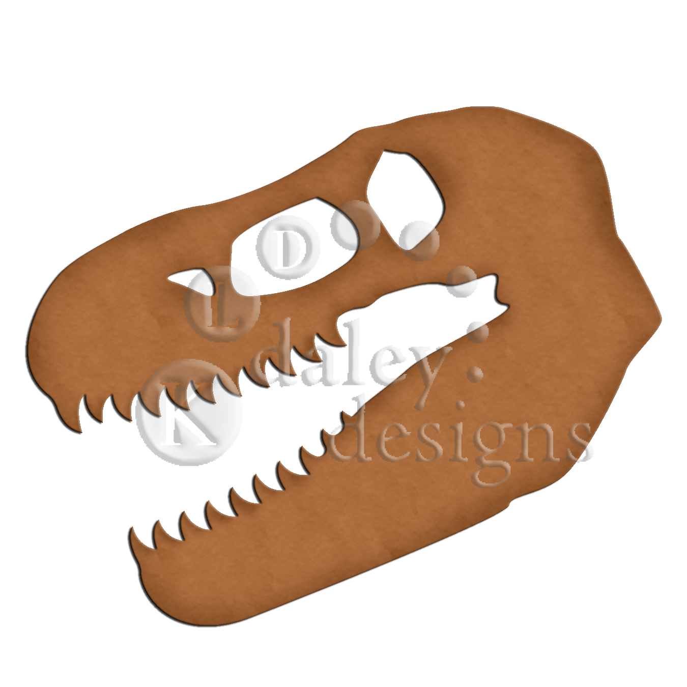 T Rex Head Silhouette