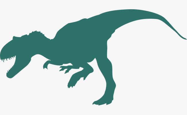 650x400 Tyrannosaurus Rex Silhouette, Dinosaur Silhouette, Dinosaur