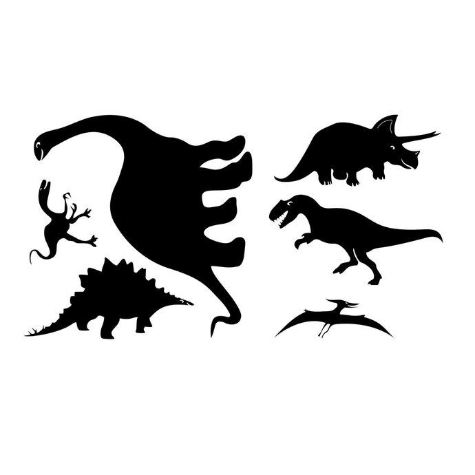 690x690 Dinosaur T Rex Triceratops Graphics Design By Vectordesign On Zibbet
