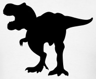 190x156 Angry T Rex Dinosaur Silhouette Rawring By Azza1070 Spreadshirt