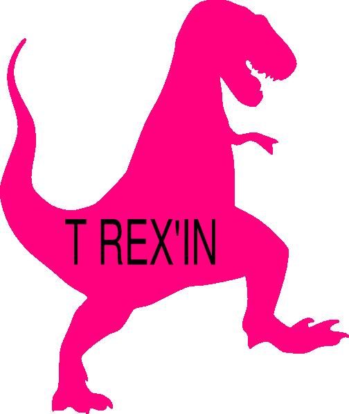 504x597 Pink T Rex Clip Art