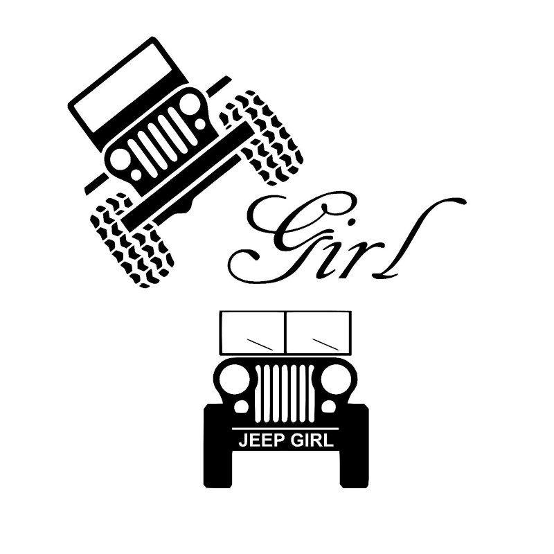 800x800 Jeep Girl Svg Cut File For Silhouette Studio And Cricut Design