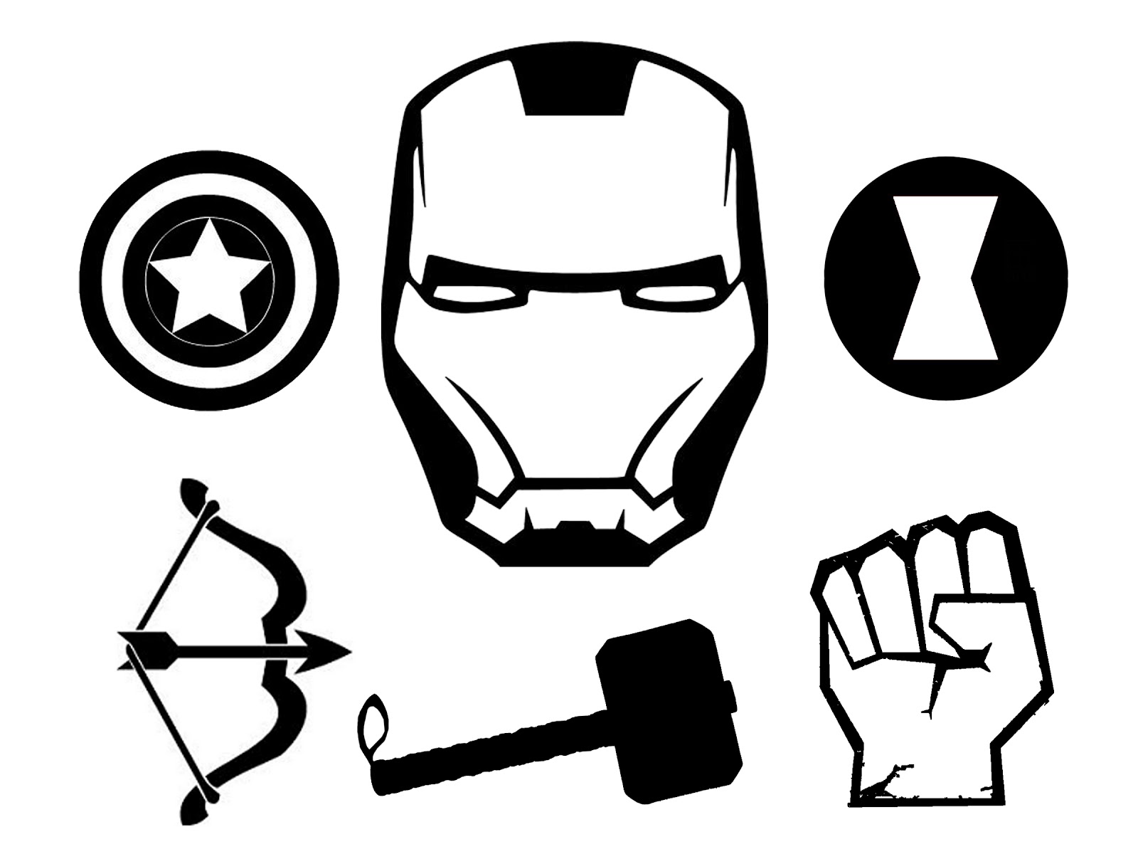 1600x1200 Doodlecraft The Avengers T Shirt And Stencil!