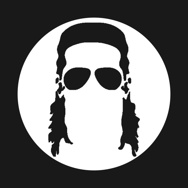 630x630 The Mullet Show Silhouette