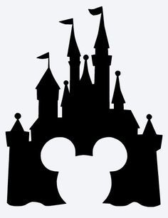 236x307 Disney Castle Clipart With Mickey Head