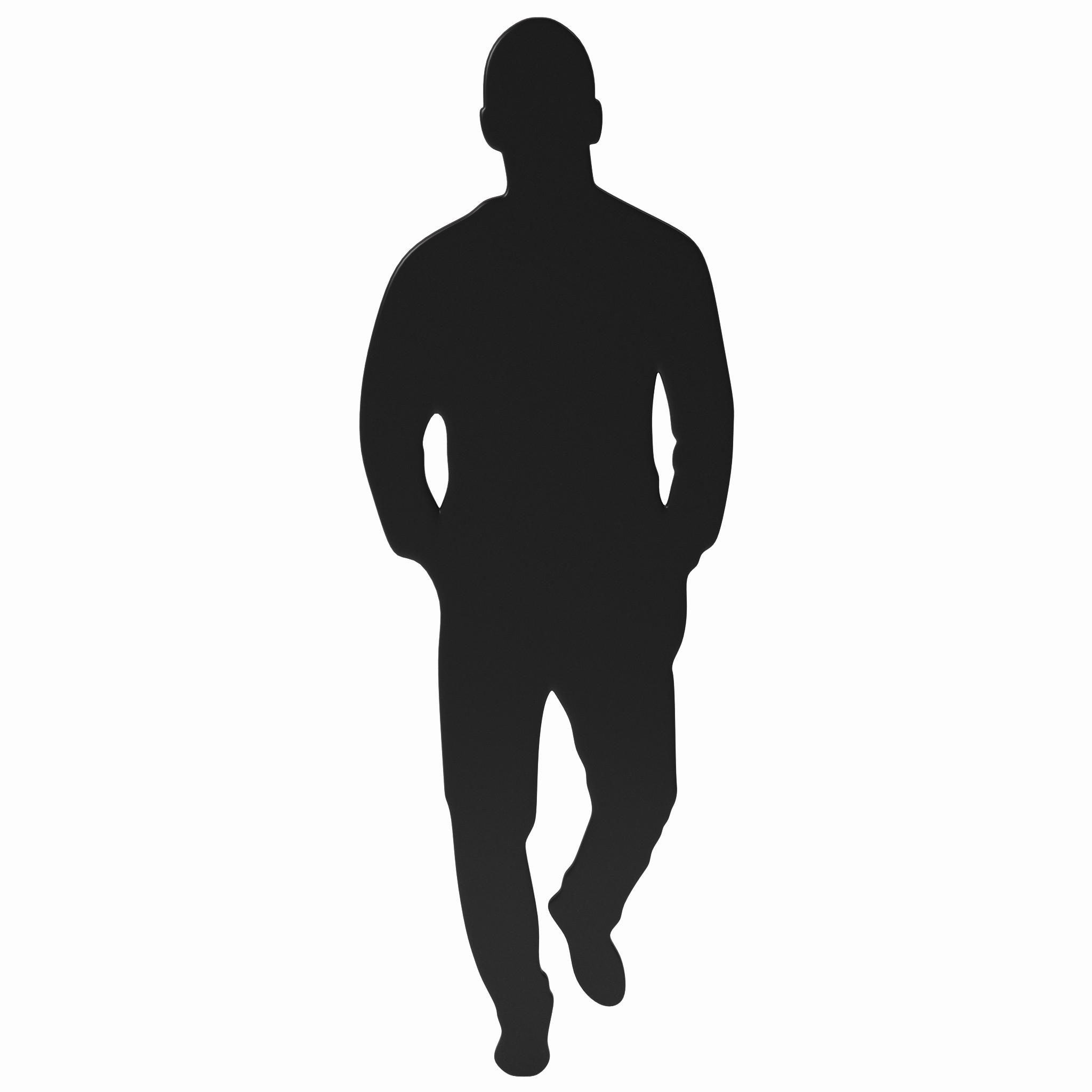 2048x2048 Men Silhouette Inspirational Man Silhouette Free Download Clip Art