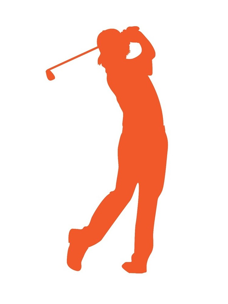 750x1000 Rickie Fowler Silhouette Golf T Shirt Iphone Cases Amp Covers By