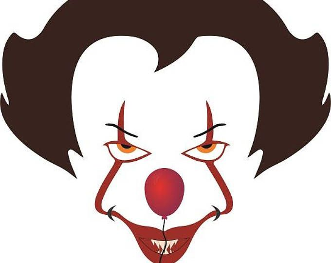 680x540 We All Float Down Here Pennywise Svg, It The Clown, Cricut Cut