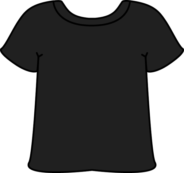 600x562 Free Vector Graphic T Shirt Shirt Silhouette Black Free Vector