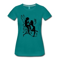190x190 Angel, Fairy, Elf, Magic, Silhouette Vector By Lavalova Spreadshirt