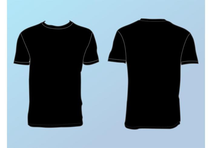 700x490 Basic T Shirt Template