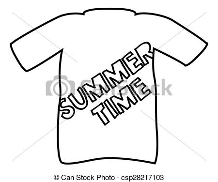 450x376 A Summer T Shirt Silhouette Design Isolated On A White Vector