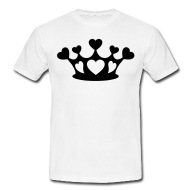 190x190 Shop Crown Silhouette T Shirts Online Spreadshirt
