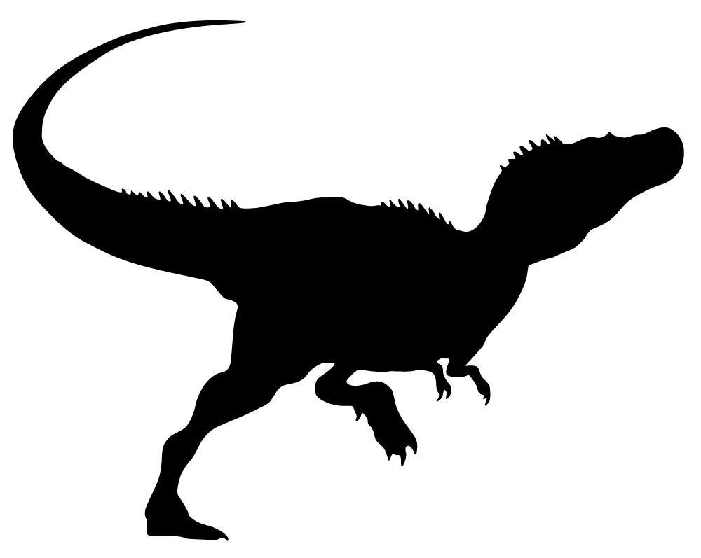 1000x797 Tyrannosaurus Rex Clipart Silhouette Pencil And In Color Beauteous