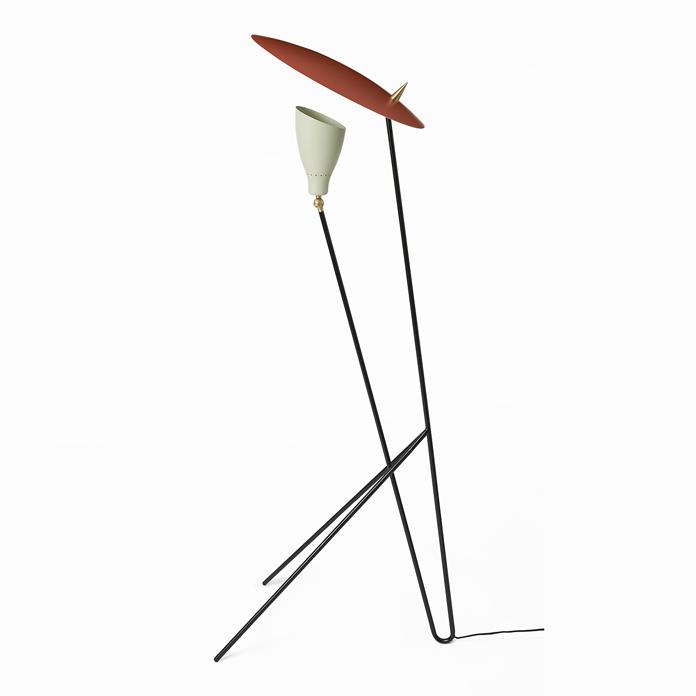 696x696 Silhouette Floor Lamp By Svend Aage Holm Sorensen