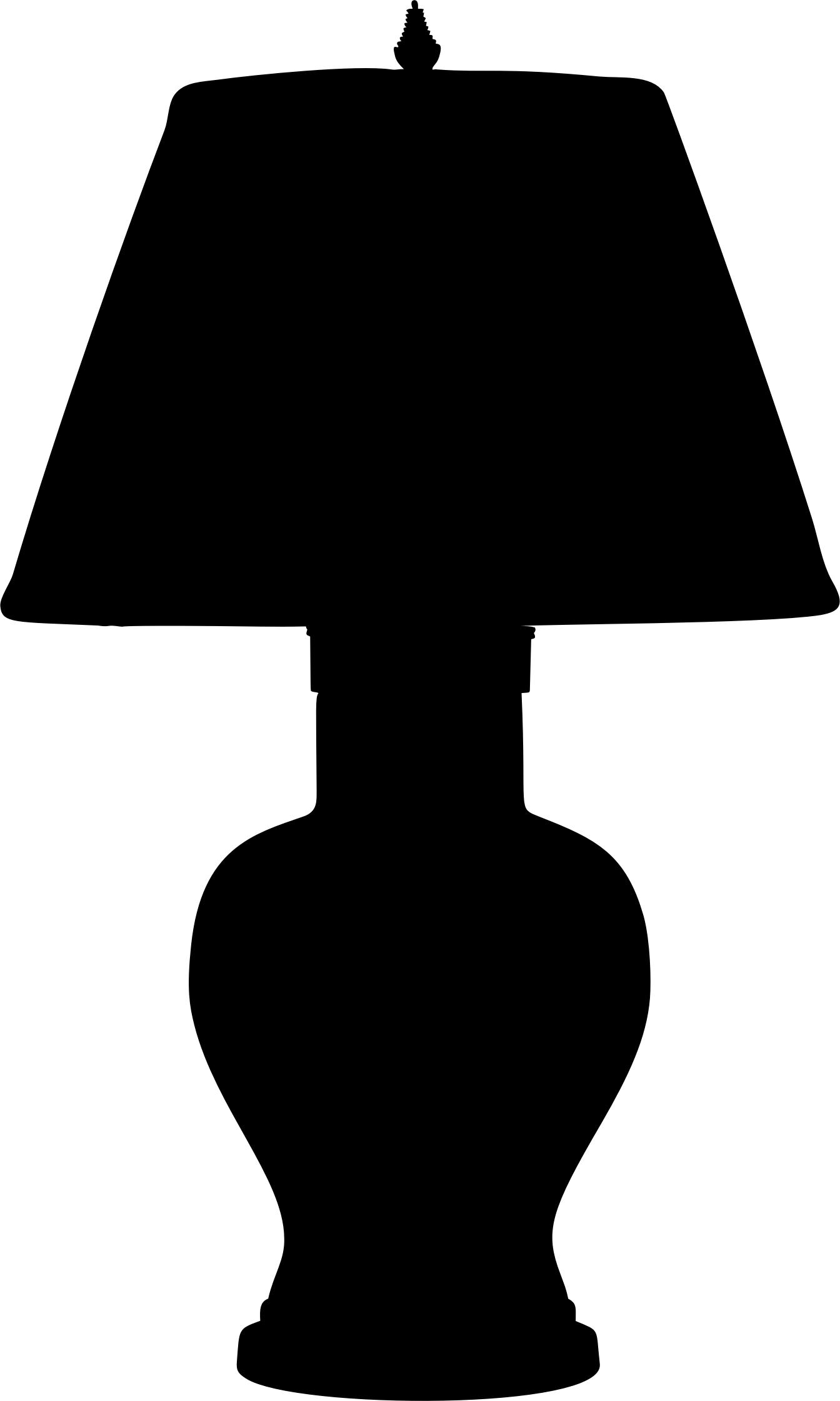 1344x2242 Table Lamp Silhouette Icons Png