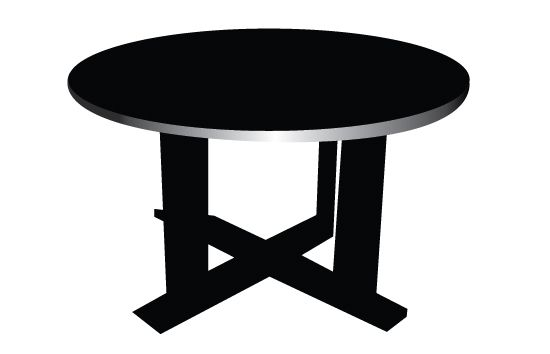 550x354 Table Silhouette Vector Silhouettes, Vector Free Download