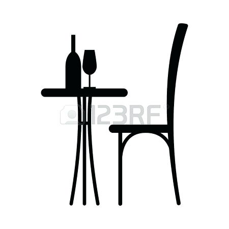 450x450 Table Silhouette