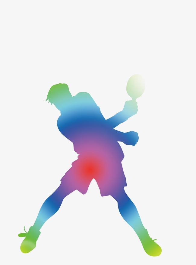 650x877 Table Tennis Silhouette, Pingpong, Athlete, Olympic Games Png